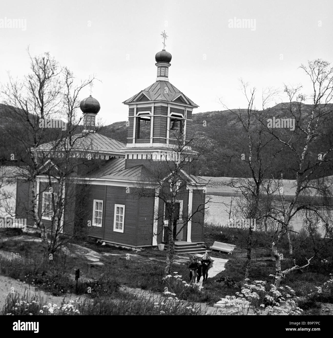 The Boris and Gleb Church in Borisoglebsk - Stock Image
