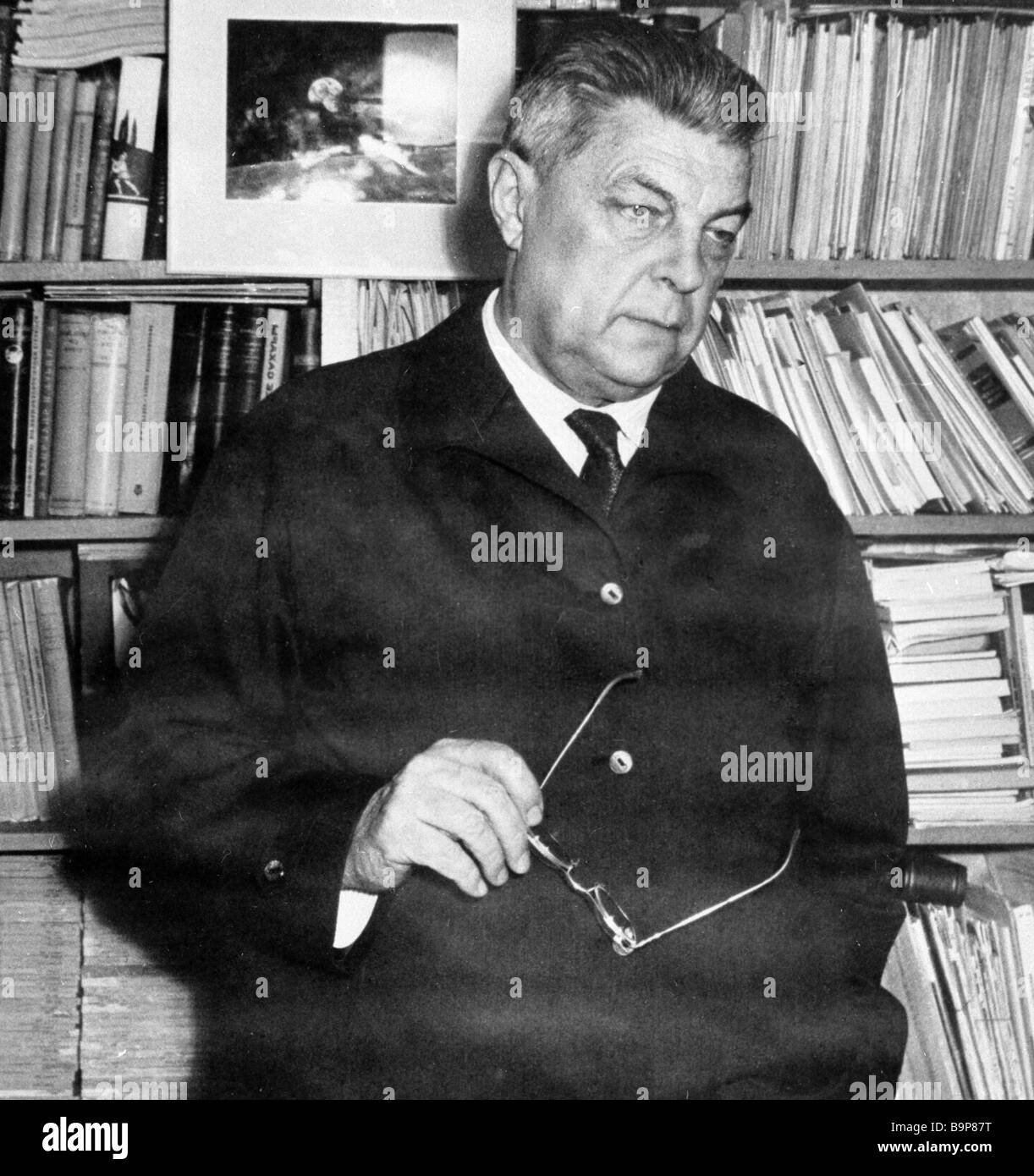 Soviet writer Ivan Yefremov 1907 1972 - Stock Image