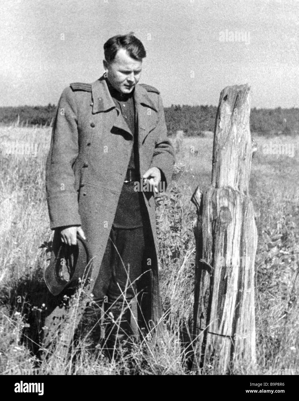 Poem A.T. Tvardovskys Vasily Terkin. The image of Vasily Terkin