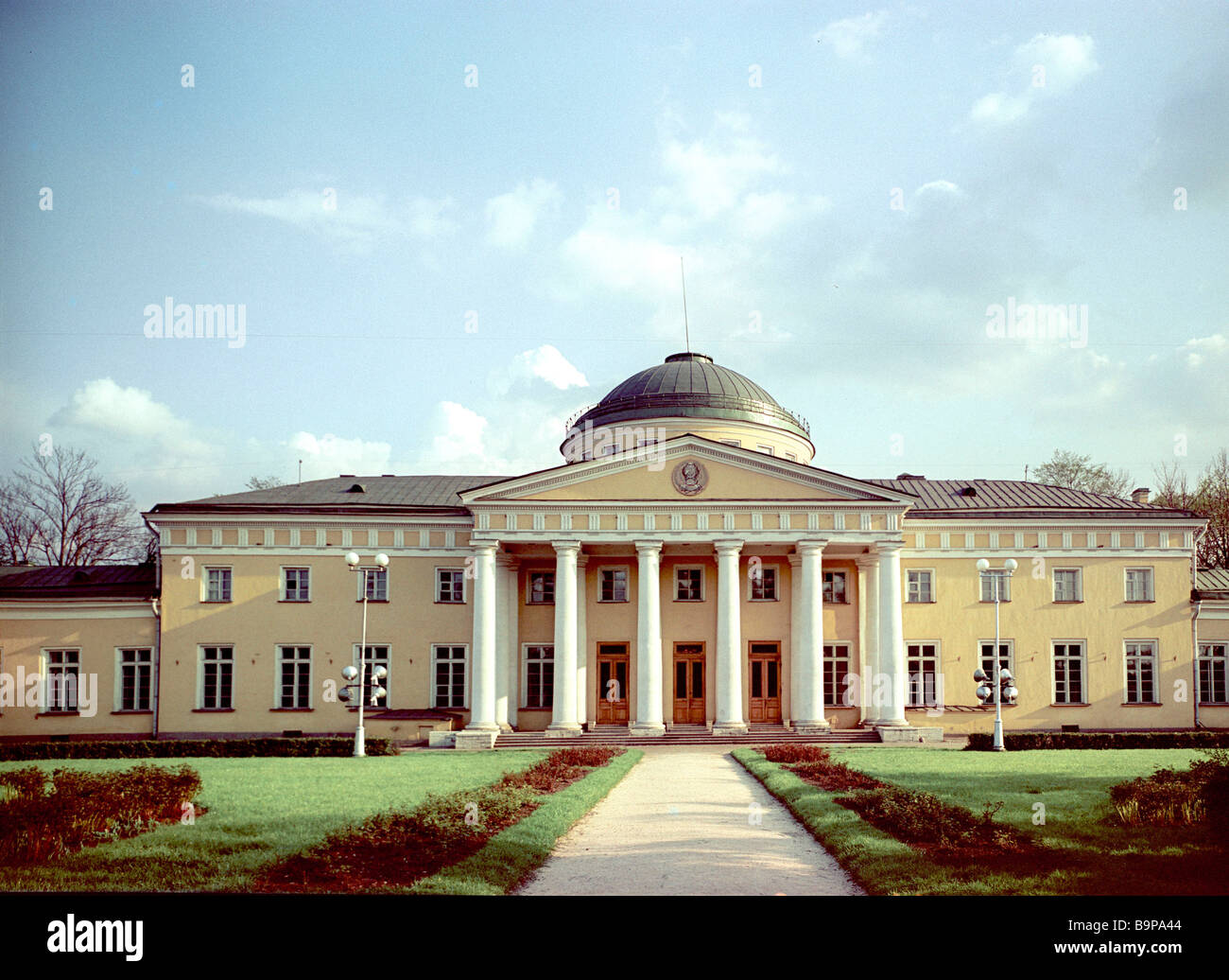 The Tavrichesky Palace a classicism landmark of the 18th century second half Built by architect Starov in 1789 - Stock Image