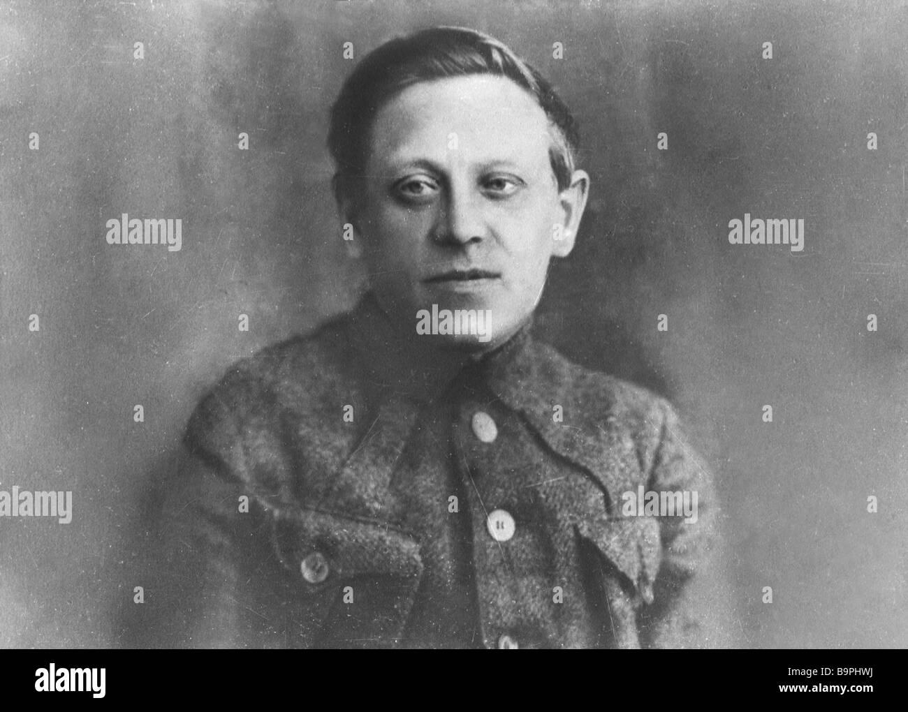 Symon Petlyura 1879 1926 - Stock Image