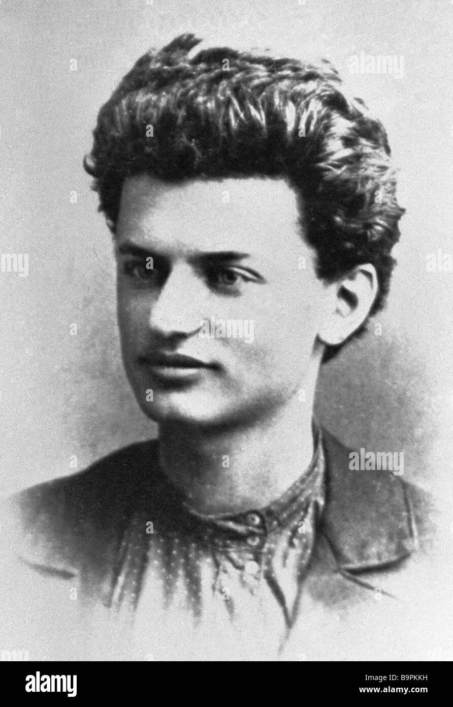 Leon Trotsky 1879 1940 - Stock Image