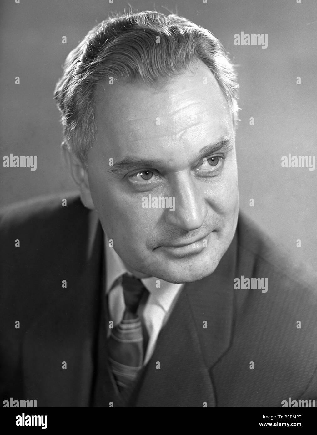 Actor Nikolai Gritsenko - Stock Image