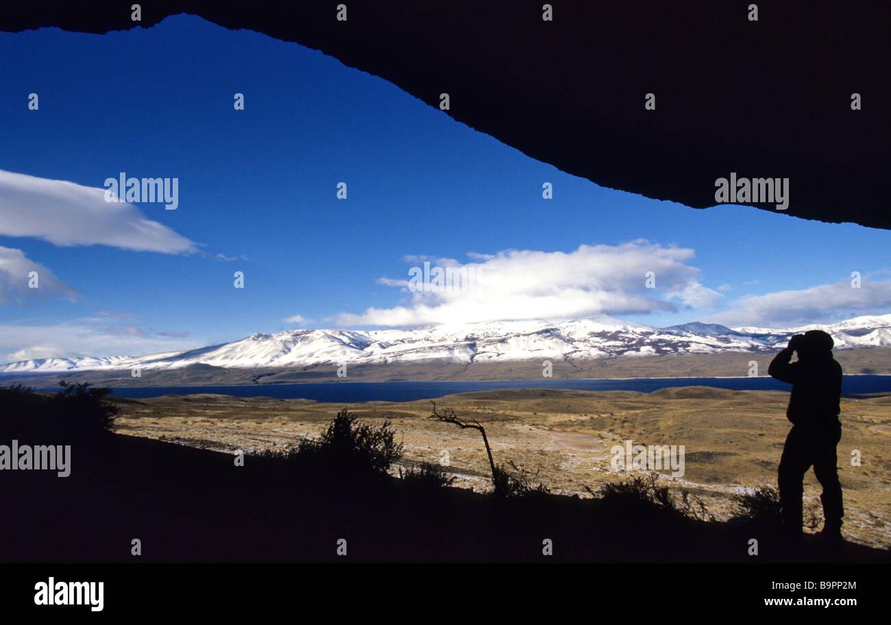Chile, Patagonia, Magellan Region, Torres del Paine National Park - Stock Image