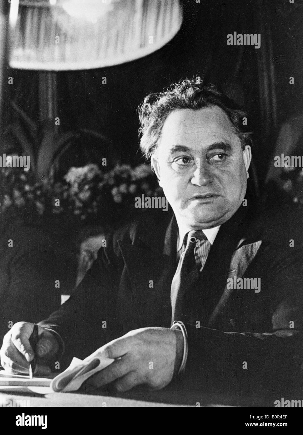 6489de330e55 Georgi Dimitrov at the 6th Communist International congress Moscow 1935  Dimitrov 1882 1949 was prominent in