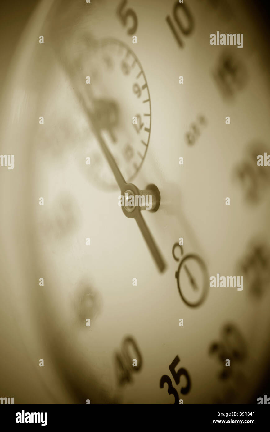 Close up of a stopwatch - Stock Image