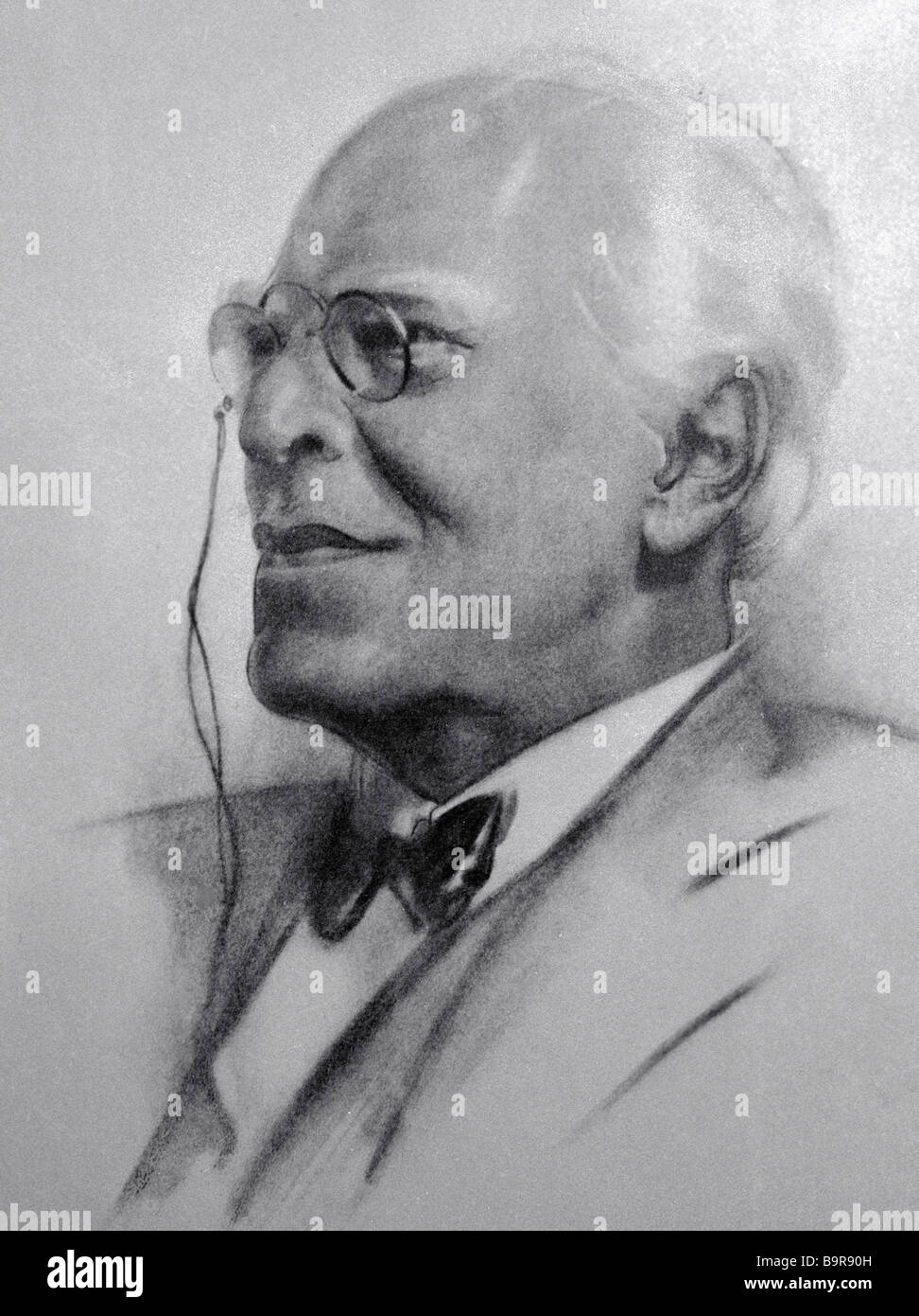 Actor producer teacher theorist the USSR People s Artist Konstantin S Stanislavsky 1863 1938 reproduction of Vasily - Stock Image
