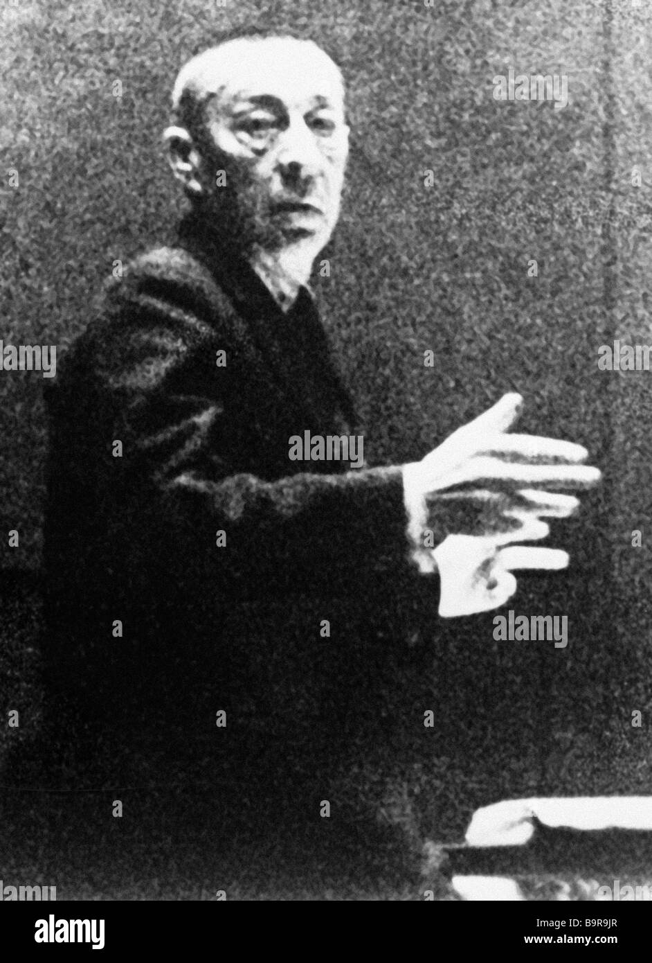 Russian Composer And Conductor Stock Photos & Russian