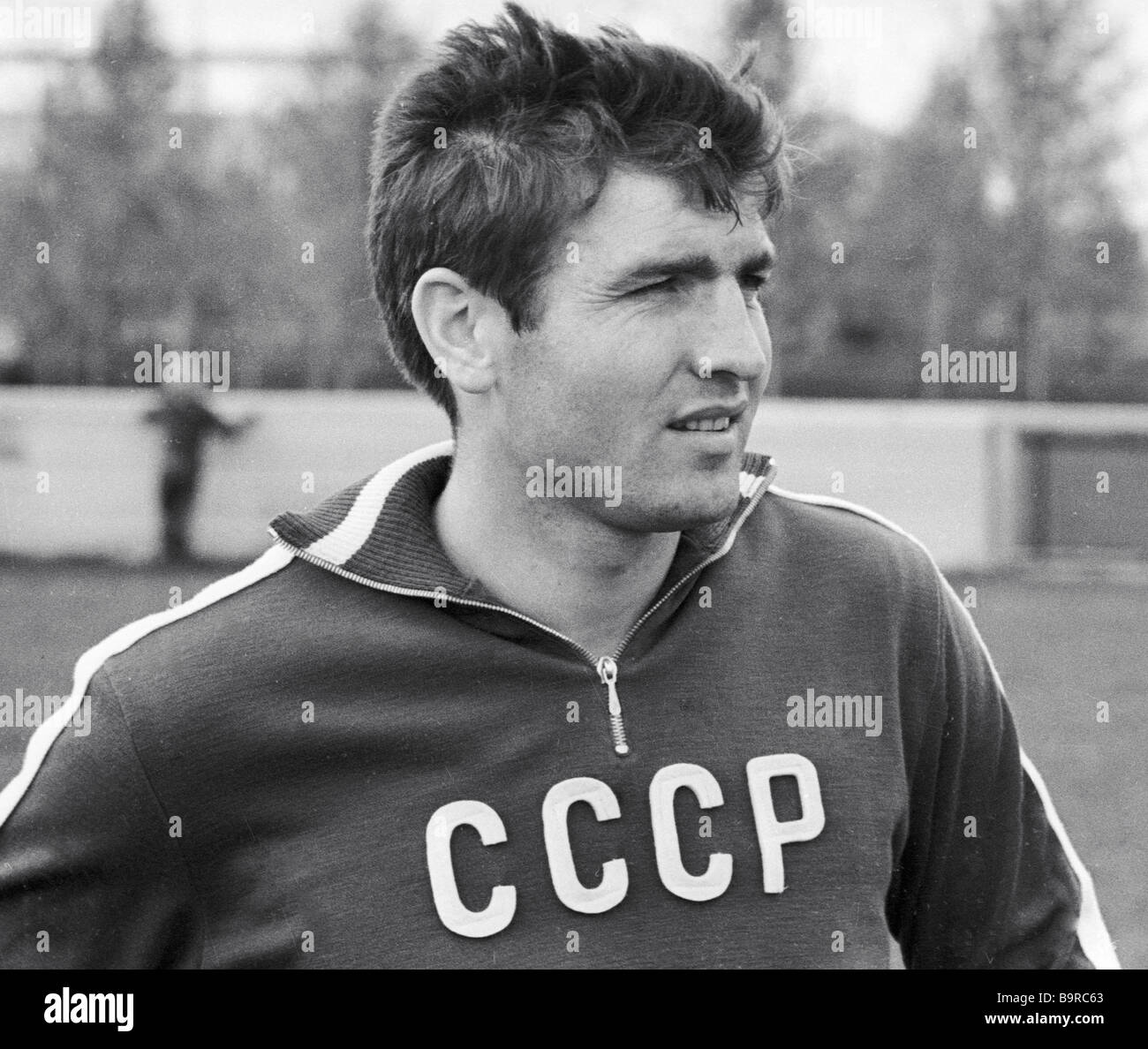 U S S R national soccer team half back Fyodor Medvid - Stock Image