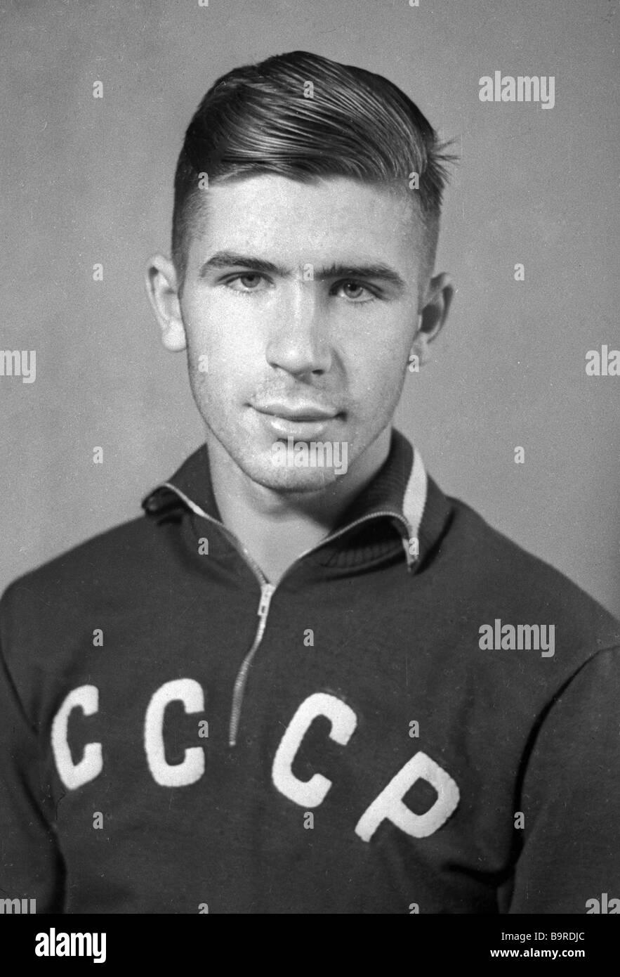 Olympic rowing champion Vyacheslav Ivanov - Stock Image