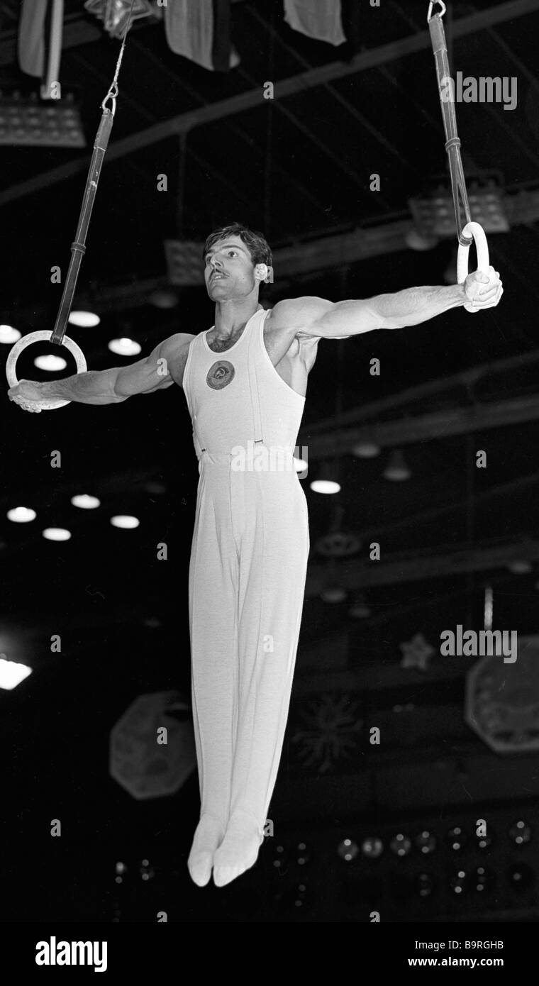Albert Azaryan. The life path of the 11-time USSR champion in gymnastics