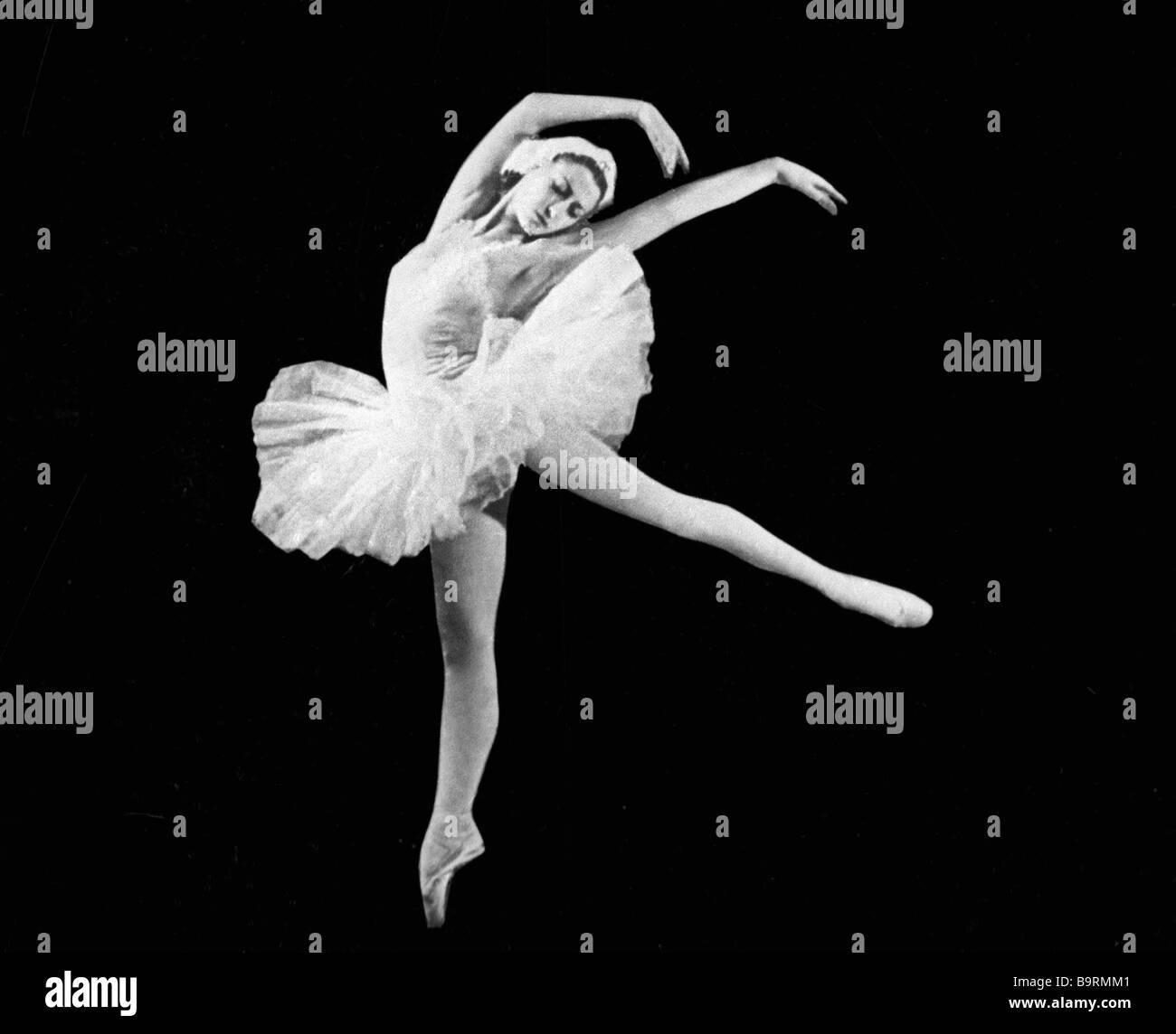 Ballet dancer Maya Plisetskaya - Stock Image