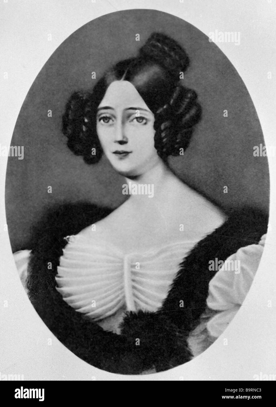 Poetess Countess Rostopchina 1811 1858 - Stock Image