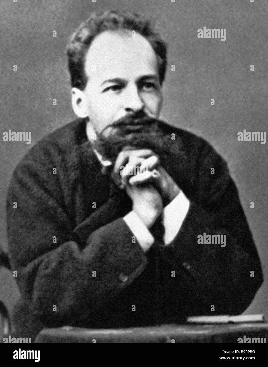 Architect and artist Viktor Gartman 1834 1873 Stock Photo