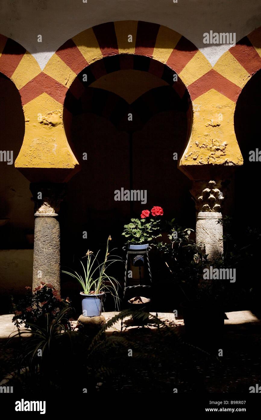 Baños Árabes de Santa María Siglo X Córdoba Andalucía España Arab Baths of Santa Maria Century X Cordova Andalusia Stock Photo