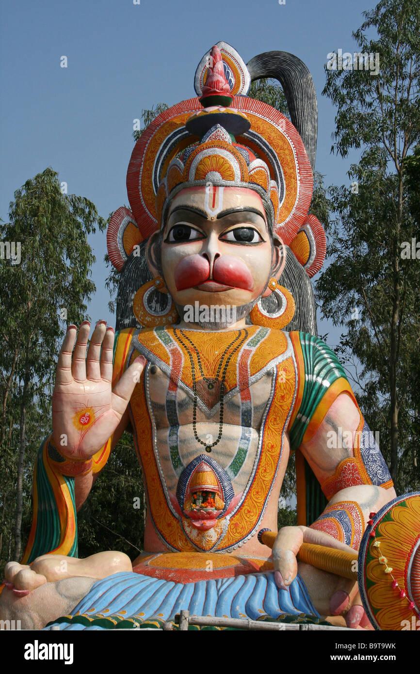 Idol Of Lord Hanuman Stock Photos & Idol Of Lord Hanuman