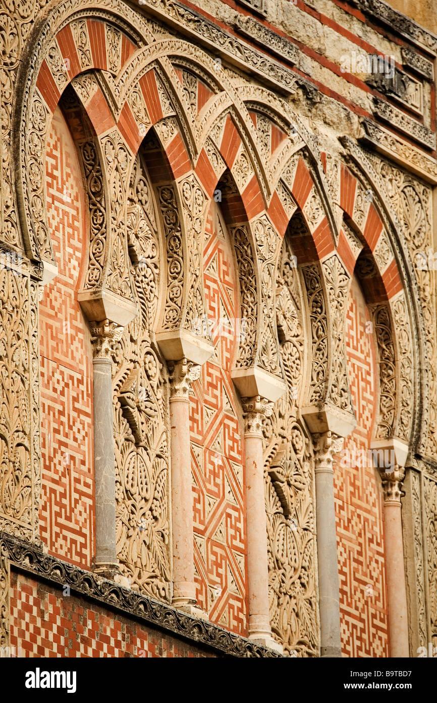 Muros Exteriores de la Mezquita Catedral de Córdoba Andalucía España Mosque Cathedral of Cordova Andalusia Spain Stock Photo
