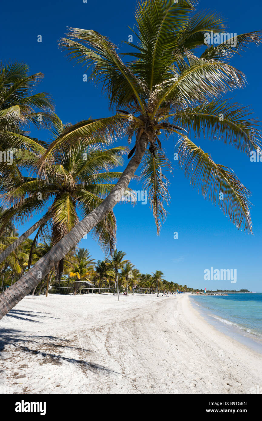 Smathers Beach, Key West, Florida Keys, USA - Stock Image
