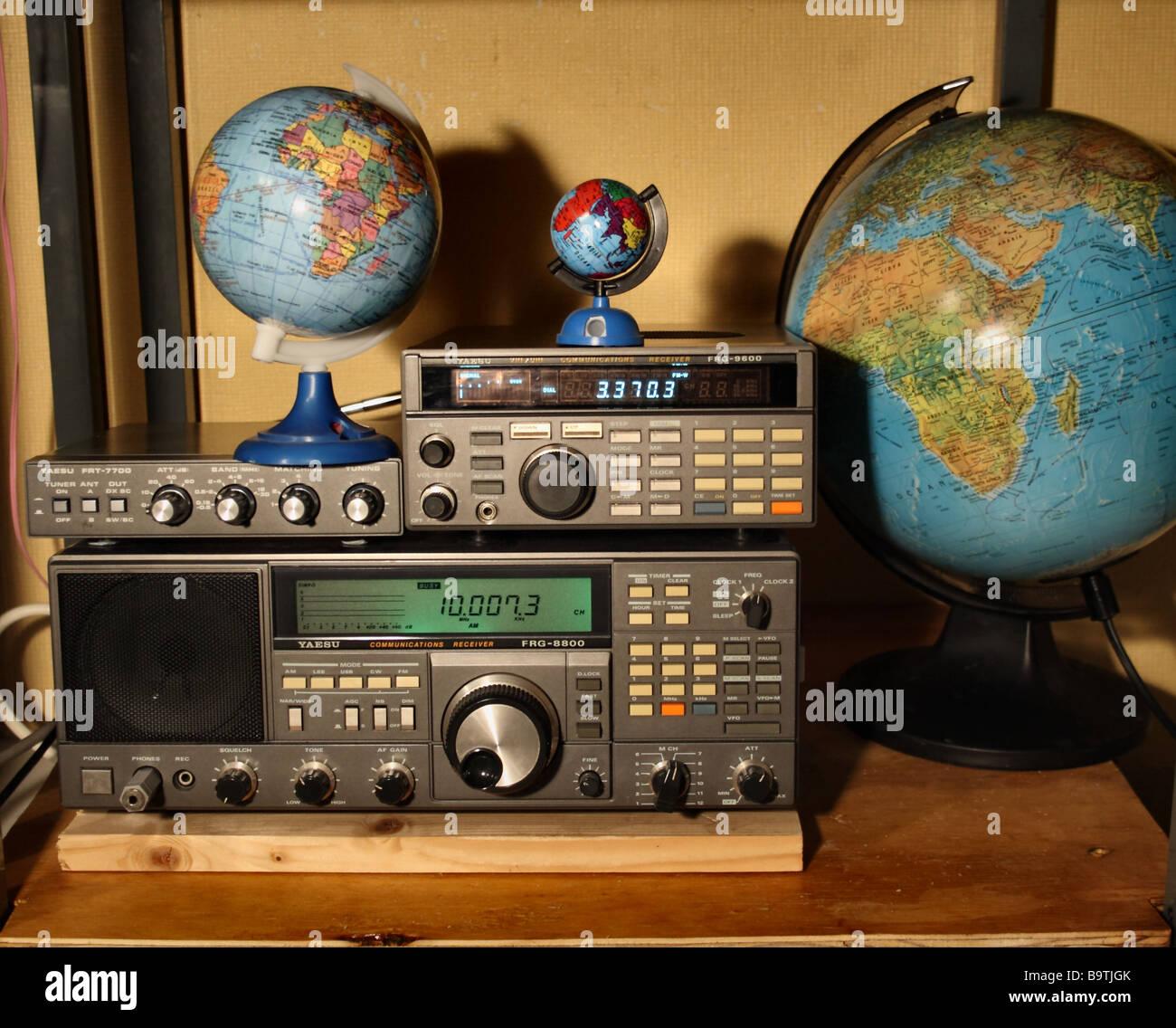 Shortwave Radio illustrates communication receivers