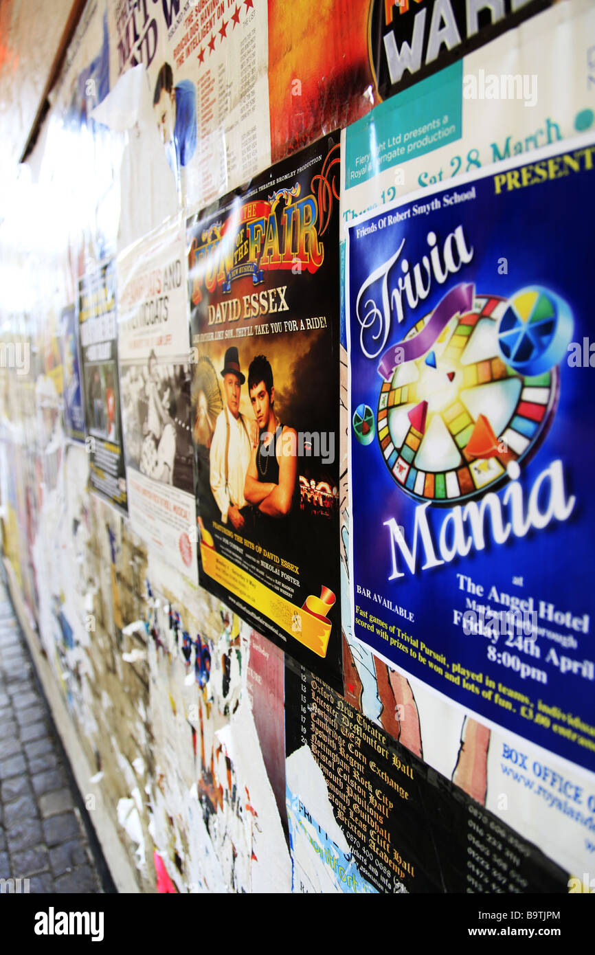 Theatre Posters Stock Photos Amp Theatre Posters Stock