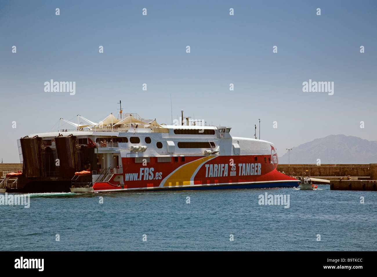 Compañías de ferry de Tarifa a Tánger