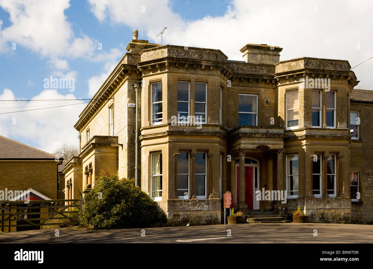 St Francis Independent Prep School at Pewsey Wiltshire England UK - Stock Image