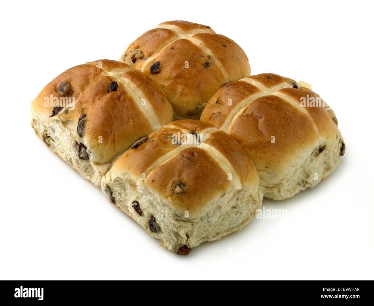hot cross buns - Stock Image