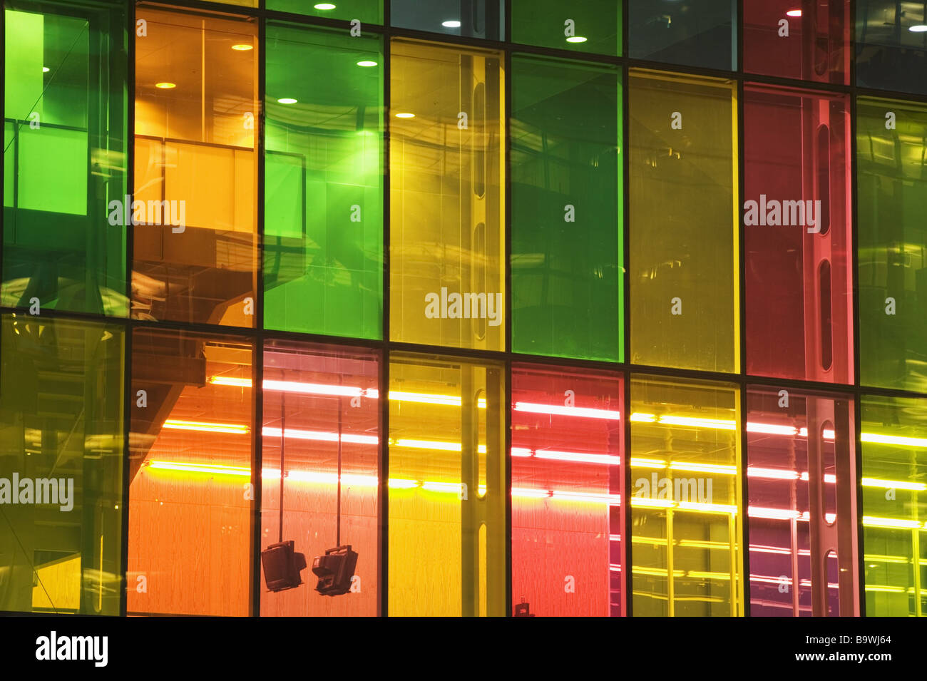 Coloured Glass Montreal Stock Photos & Coloured Glass Montreal Stock ...