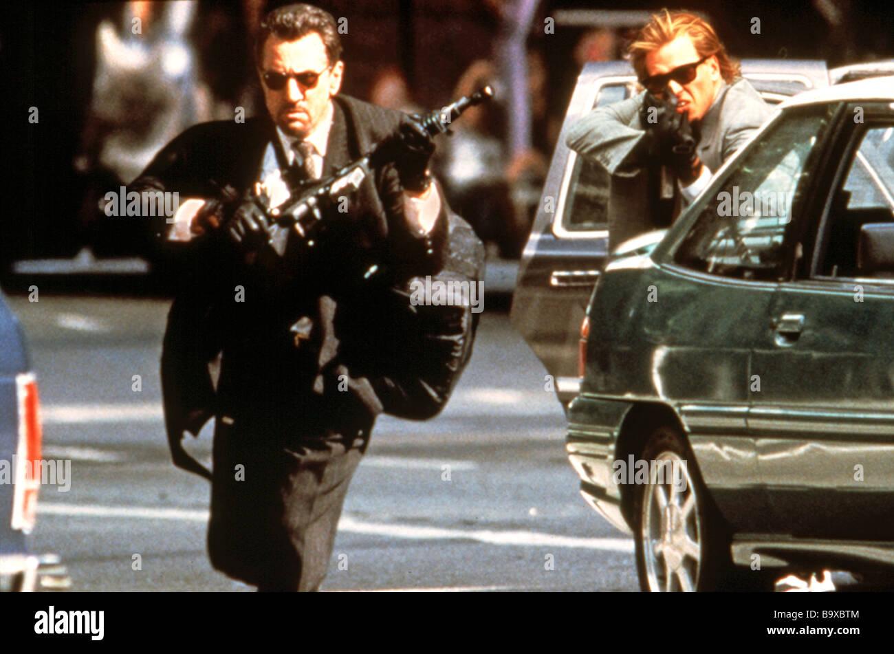HEAT 1995 Warner film with Al Pacino at left - Stock Image