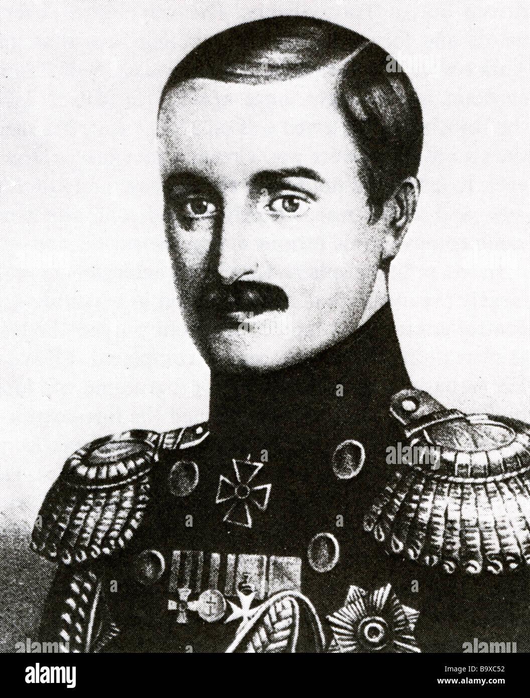 LAVRENTI KORNILOV Russian Army general 1870 to 1918 - Stock Image