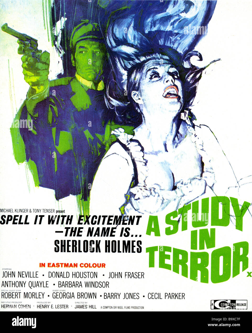 A Study In Terror Movie Trailer, Reviews and More | TV Guide