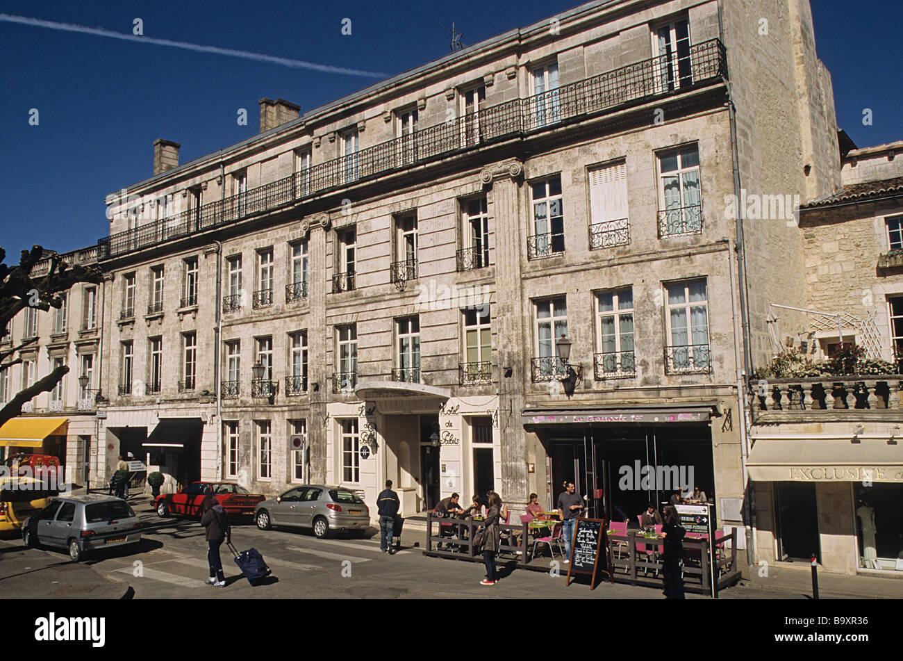 angouleme hotel du palais in place francis louvel stock. Black Bedroom Furniture Sets. Home Design Ideas