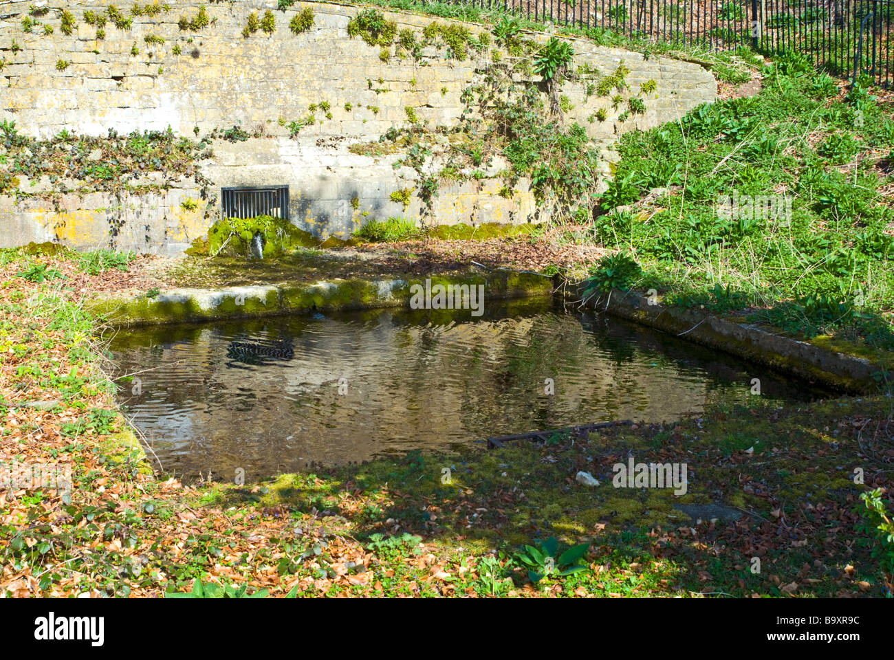 Fair Rosamund's Well in the Park at Blenheim Palace, Oxfordshire, England - Stock Image
