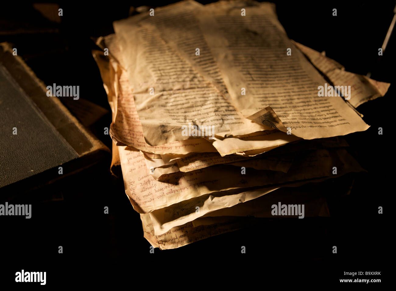 Ancient Papers - Stock Image