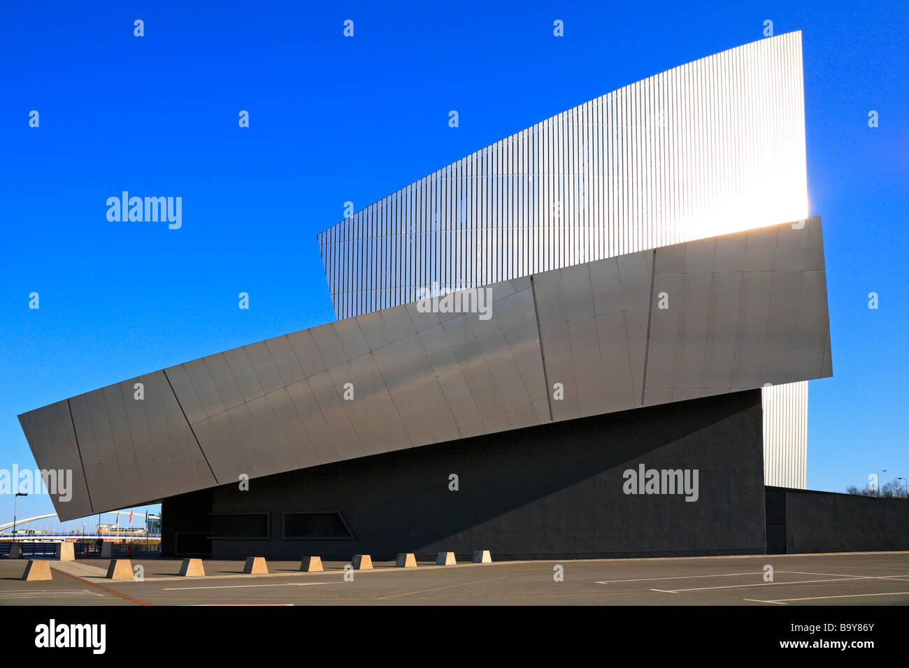 Imperial War Museum North, Salford Quays, Manchester, Lancashire, England, UK. - Stock Image