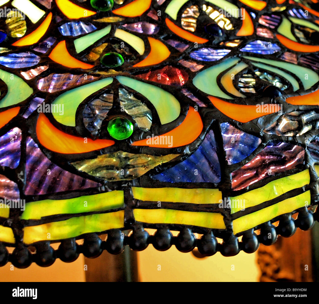 stained shades of design excellent glass shade replacement forms lighting style tiffany elegant lamp parts dale