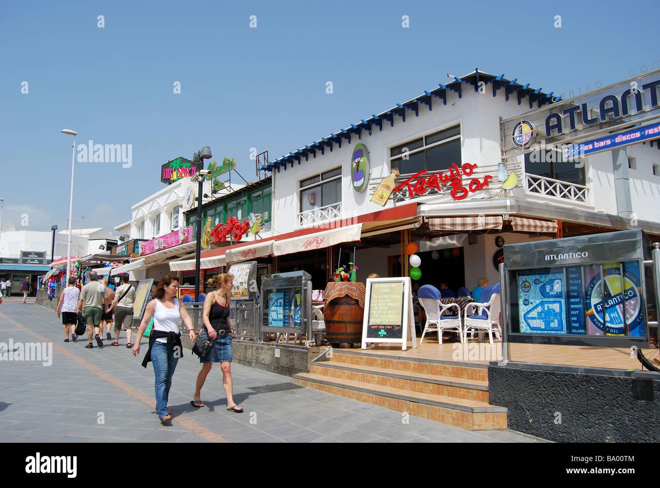Puerto Del Carmen Beach Bars