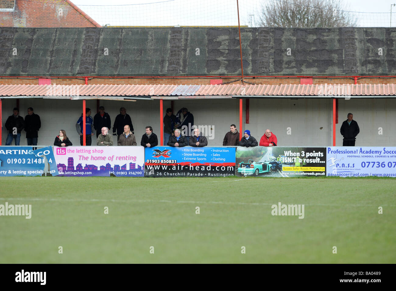 Local Football Match Uk Stock Photos & Local Football Match Uk Stock
