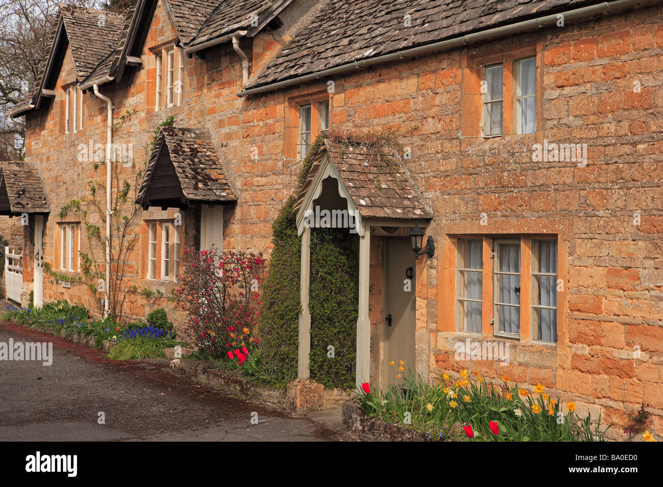 Lower Slaughter, The Cotswolds - Stock Image