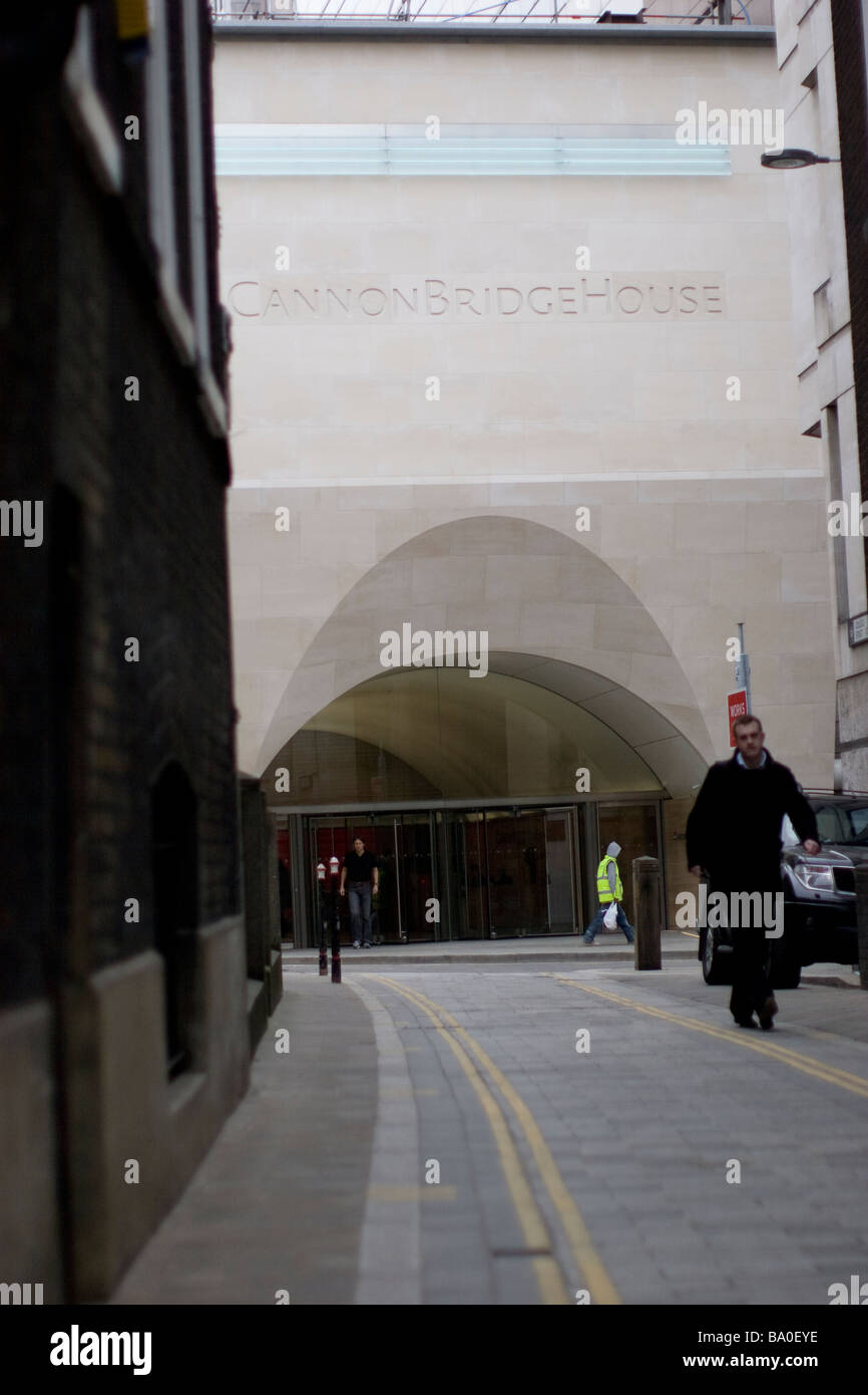 euronext Liffe London International Financial Futures and Options Exchange LIFFE headquarters - Stock Image