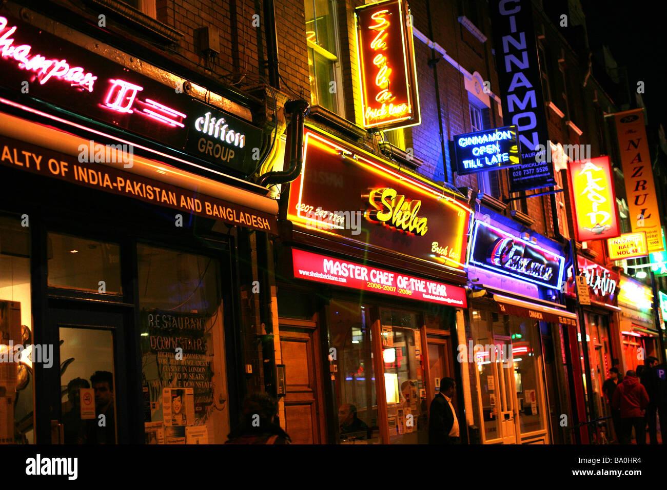 Brick Lane London Indian Food