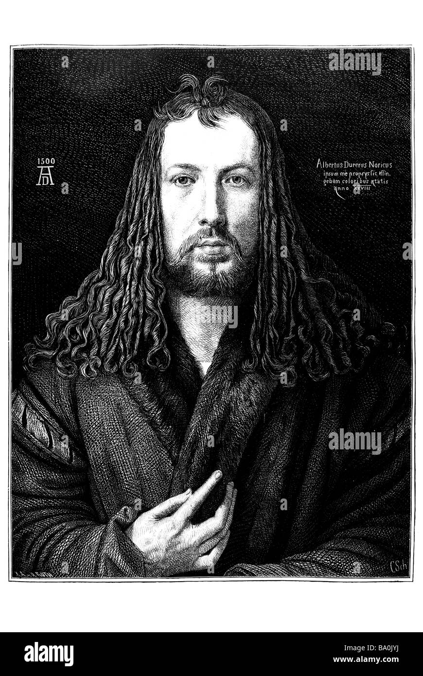 Albrecht Dürer - Stock Image