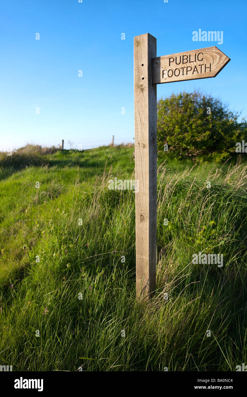 Rights of Way - Stock Image