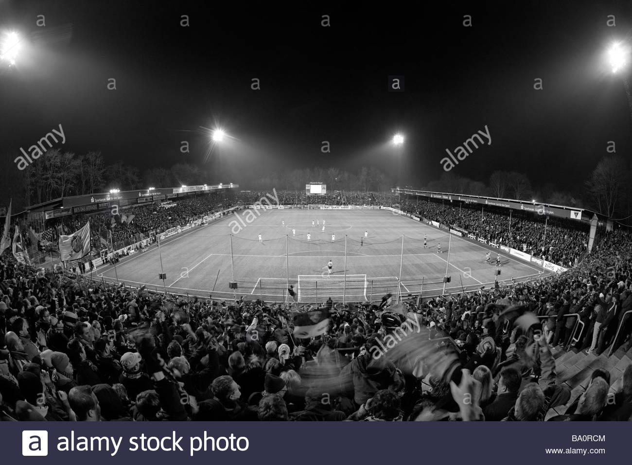 Tivoli football stadium Aachen Germany - Stock Image