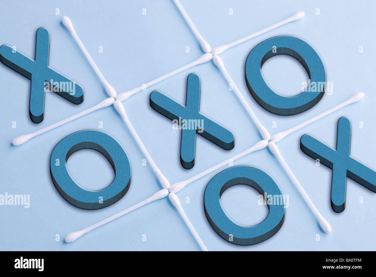 Tick tack toe - Stock Image