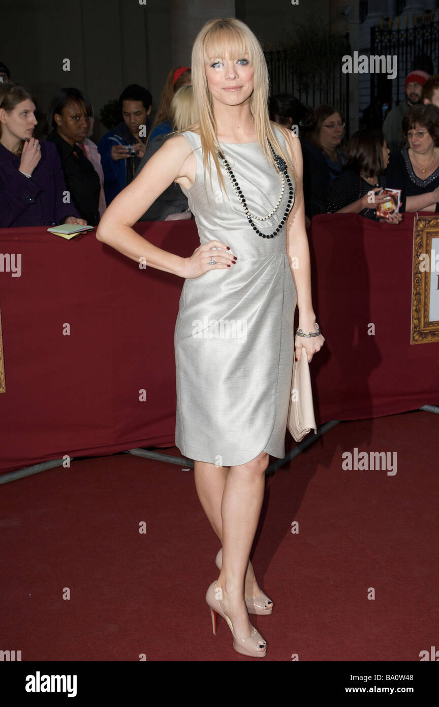 LONDON 3 April Pic shows Liz McClarnon Attending the Galaxy Book Awards Grosvenor House London 3rd of April 2009 - Stock Image