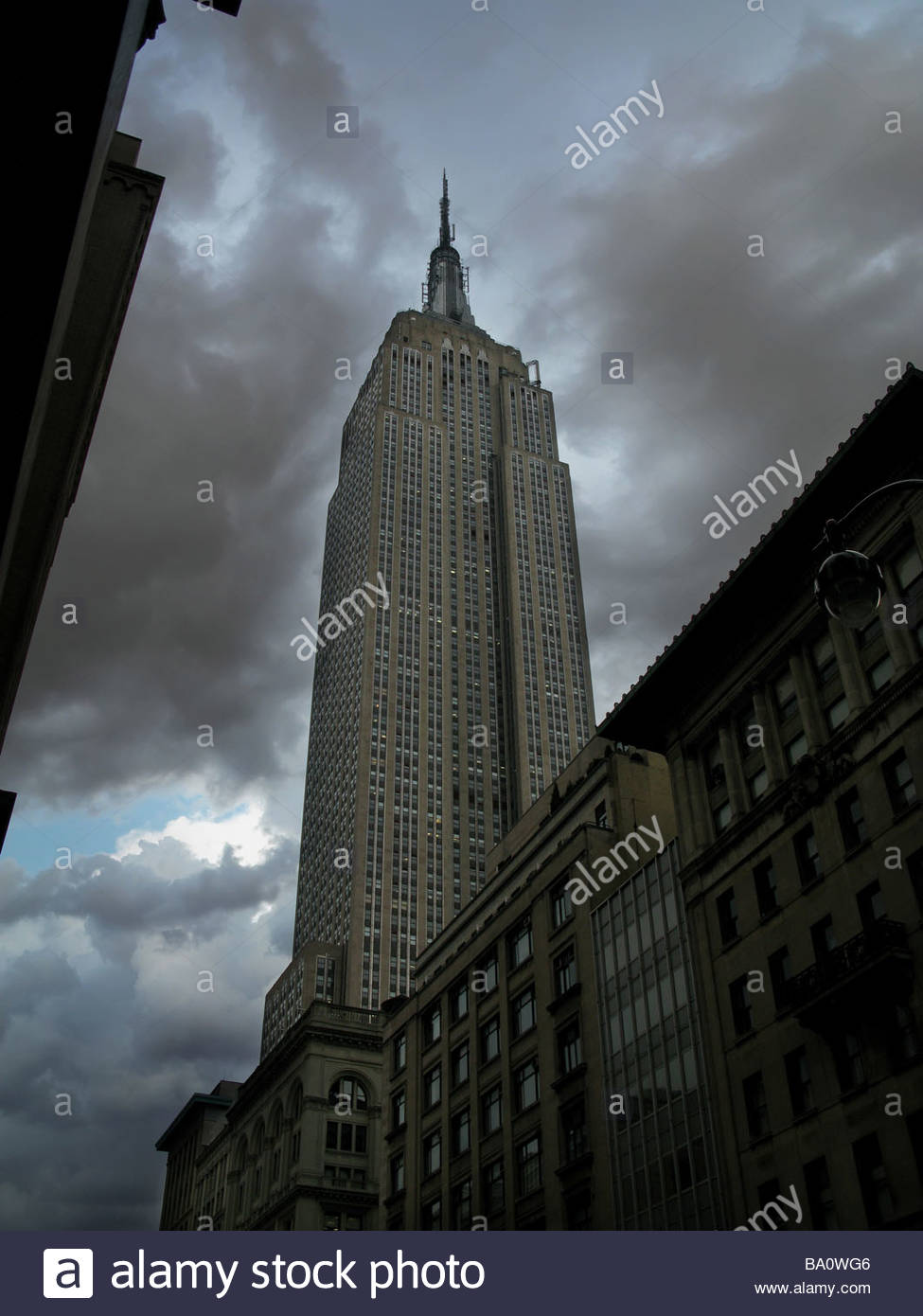 Empire State building NY - Stock Image
