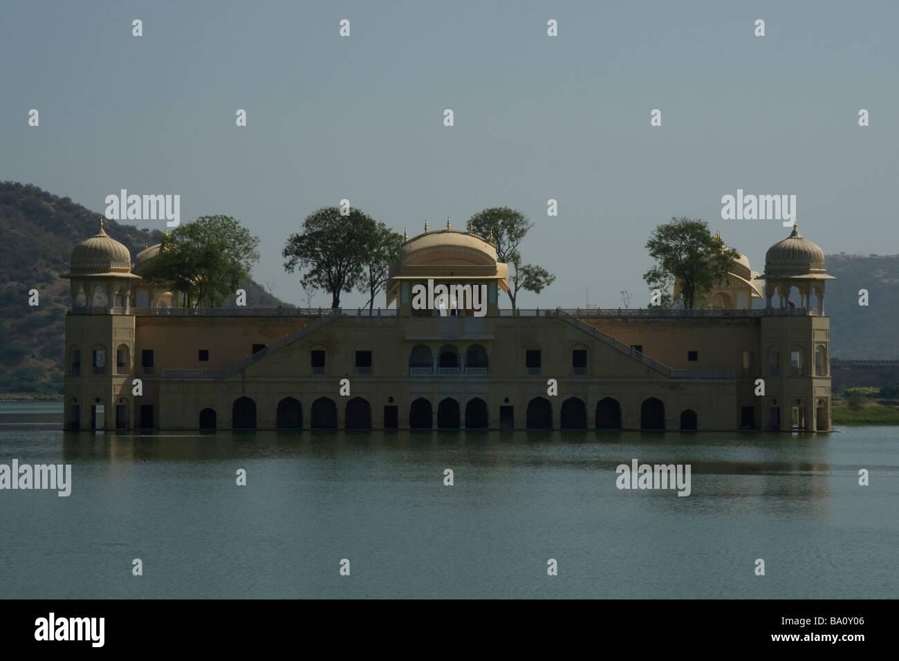 Jai Mahal, Water Palace, Jaipur - Stock Image