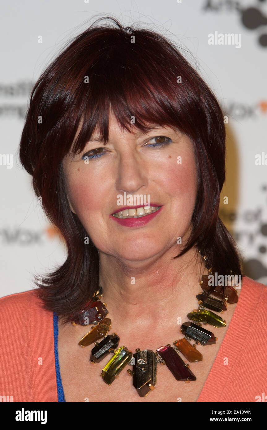 LONDON 26 March Pic shows Janet Street Porter attending the Gala for the ICA The brewery London 26th of March 2009 - Stock Image