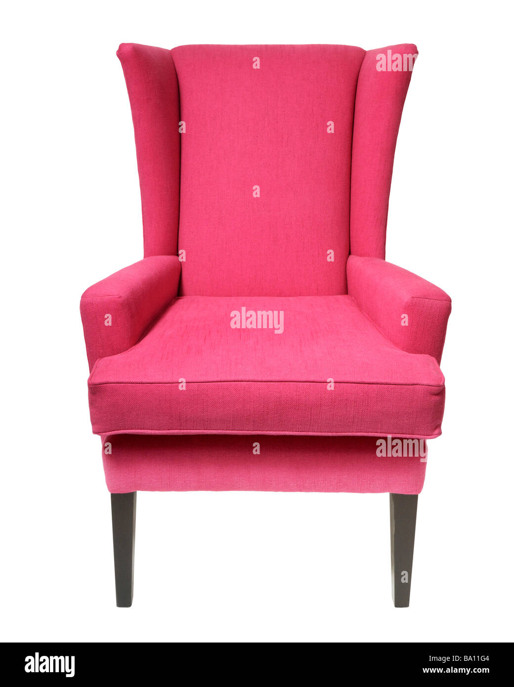 Magenta Chair Stock Photo